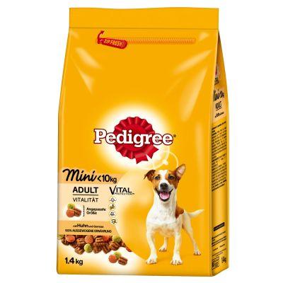 Pedigree Adult Mini kip & groente Hondenvoer - Dubbelpak 2 x 1,4 kg