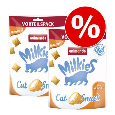 Animonda Milkies -säästöpakkaus 4 x 120 g - Wellness