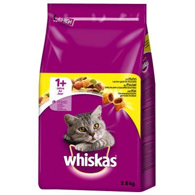 48x100 g Whiskas kapsičky + 3,8kg Whiska granule + Whiskas Mixcase za skvělou cenu!! xxx- Junior klasický výběr v omáčce (48 x 100 g)