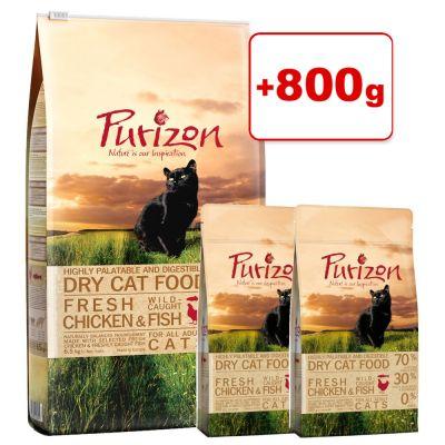 Purizon-kuivaruoka 6,5 kg + 800 g kaupan päälle! - Adult Lamb & Fish