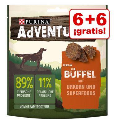 Purina AdVENTuROS 12 x 90 g snacks en oferta: 6 + 6 ¡gratis! - Ciervo
