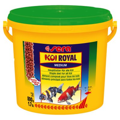 Sera Koi Royal Medium Granulat – 21 Liter