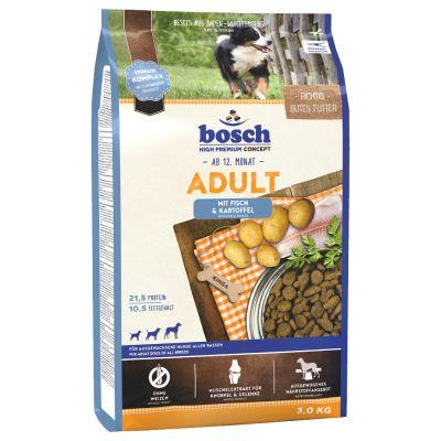 bosch Adult Vis & Aardappel Hondenvoer - 15 kg