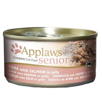 Applaws Senior 6 x 70 g - tonnikala & lohi