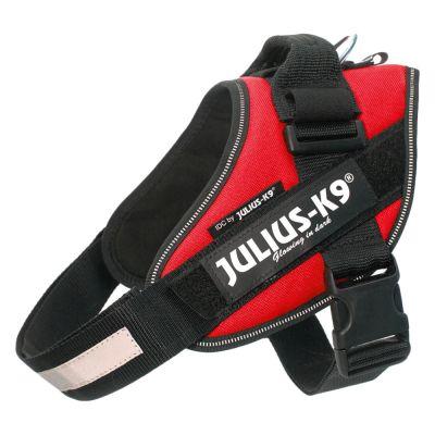 JULIUS-K9 IDC® Power -koiranvaljaat, punainen - rinnanympärys 49 - 67 cm (Mini-koko)