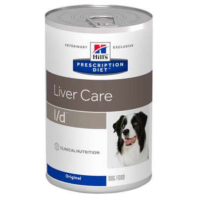 Hill´s Prescription Diet Canine l/d Liver Care Original - 12 x 370 g