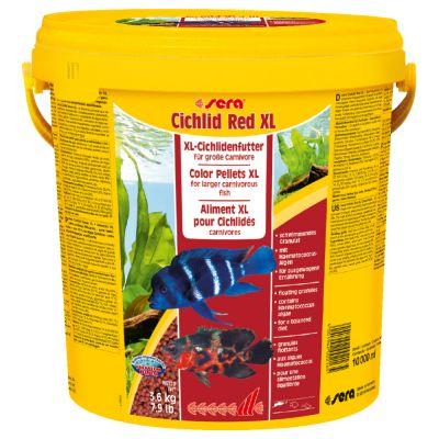Sera Cichlid Red XL Nature -raeruoka - 10 litraa