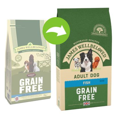 James Wellbeloved Adult Grain-Free - Fish & Vegetable - 10 kg