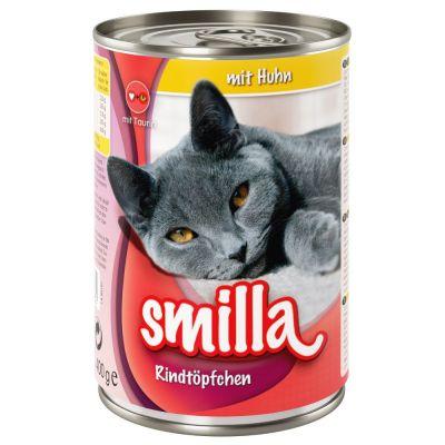 Smilla-nautapata 6 x 400 g - nautaa kanalla