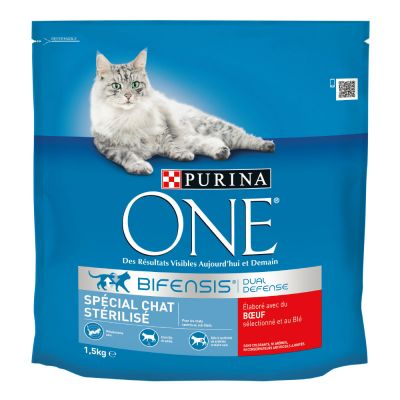 Purina ONE Sterilized Beef - 1,5 kg