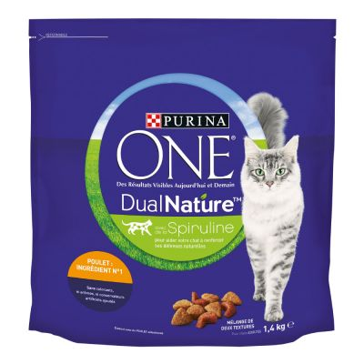 Purina ONE Dual Nature Chicken - 4 x 1,4 kg