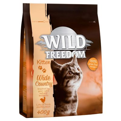 "Wild Freedom Kitten ""Wide Country"" - Poultry - 3 x 2 kg"