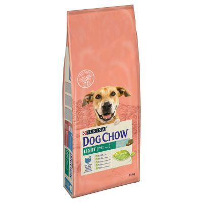 Purina Dog Chow Adult Light con pavo - 2 x 14 kg - Pack Ahorro