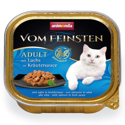 Animonda vom Feinsten Adult No Grain in Sauce 6 x 100 g - kanaa porkkanakastikkeessa