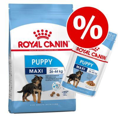 Royal Canin Size Puppy / Junior kuivaruoka + märkäruoka tarjoushintaan! - Mini Puppy (8 kg) + Mini Puppy (12 x 85 g)