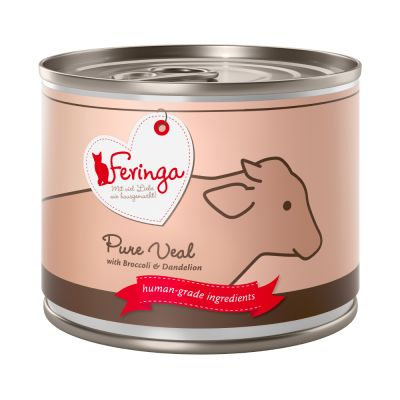 Feringa Pure Meat Menu 6 x 200 g - kani, palsternakka & kissanminttu