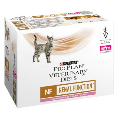 Purina Pro Plan Veterinary Diets Feline NF ST/OX - Renal Function, lohi - 10 x 85 g
