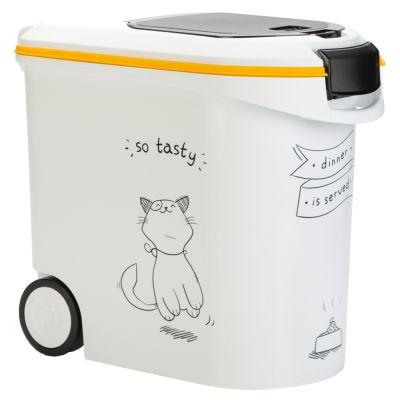 Curver Trockenfutterbehälter Katzensilhouette