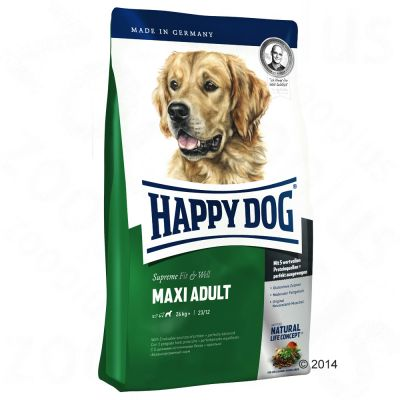 happy-dog-supreme-fit-well-adult-maxi-hondenvoer-15-kg