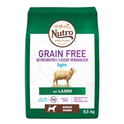 Nutro Grain Free Adult Light Lamb - 9,5 kg