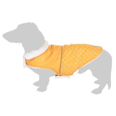 Cozy Polkadots -koirantakki - selän pituus noin 25 cm (S-koko)