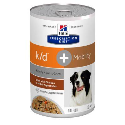 Hill's Prescription Diet k/d + Mobility Ragout mit Huhn für Hunde
