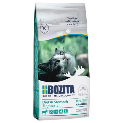Bozita Grainfree Diet & Stomach Elch