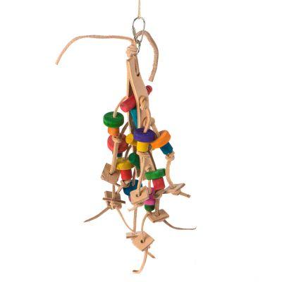 Fågelleksak Pilucco – 34 cm