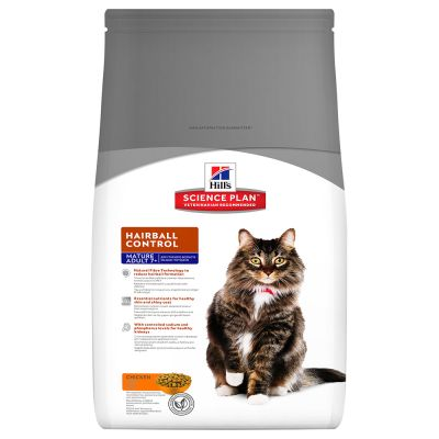 Hill's Science Plan Mature Adult 7+ Hairball Control Chicken - 1,5 kg