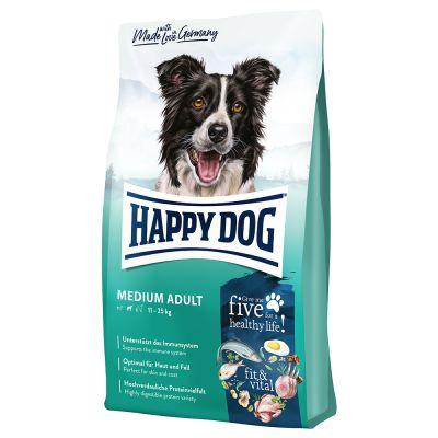 Happy Dog Supreme Fit & Vital Medium Adult -säästöpakkaus: 2 x 12 kg