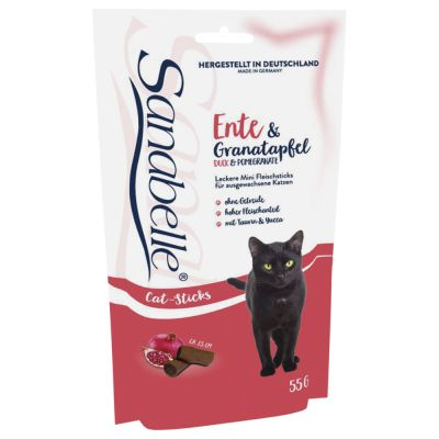 Sanabelle Cat-Stick No Grain - Ente & Granatapfel 55 g