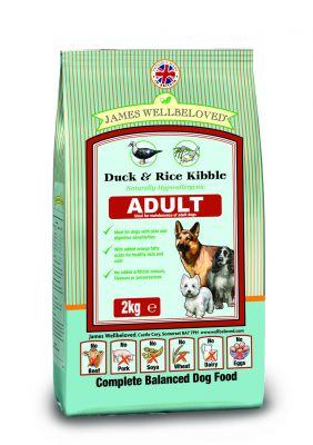 james-wellbeloved-adult-eend-rijst-hondenvoer-15kg