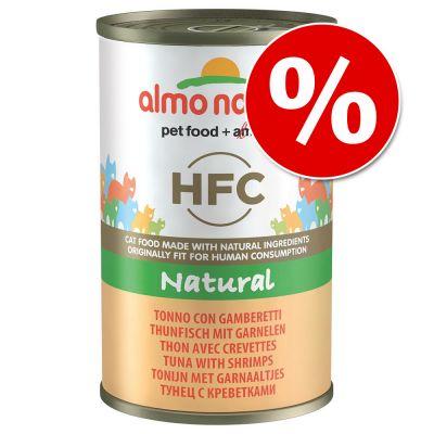Almo Nature HFC -kissanruoka 24 x 140 g erikoishintaan! - kanankoipi