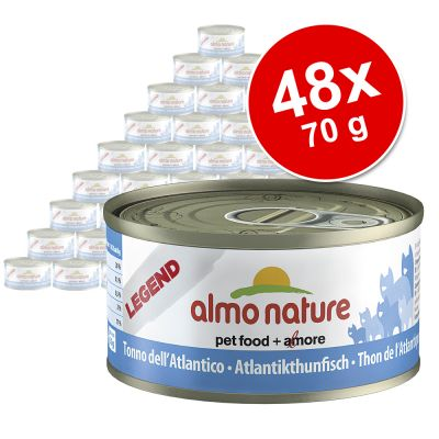 Ekonomipack: Almo Nature 48 x 70 g – Legend: Kitten Kyckling