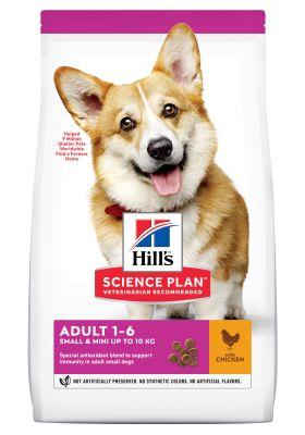 Hill's Adult 1-6 Small & Mini Science Plan con pollo - 3 kg
