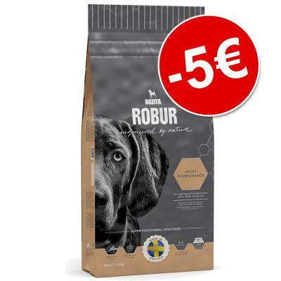 Bozita Robur -suurpakkaus erikoishintaan - 5 € alennusta! - Mother & Puppy XL (14 kg)