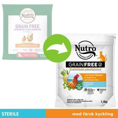 Nutro Grain Free Adult Sterilized Chicken - 1,4 kg