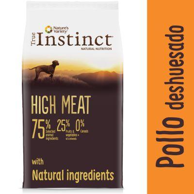 Nature's Variety True Instinct High Meat Medium-Maxi con pollo campero - 2 x 12 kg - Pack Ahorro