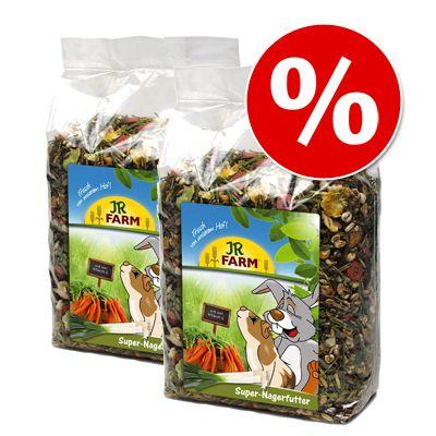 2 x 1 kg JR Farm Super gnagarfoder till SUPERPRIS! – 2 x 1 kg