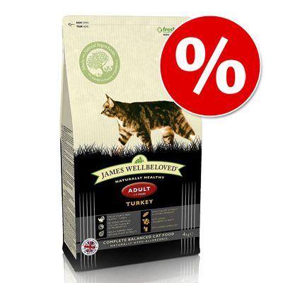 4 kg James Wellbeloved till KANONPRIS! – Adult Cat Hairball – Turkey
