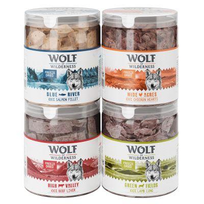 Sparpaket Wolf of Wilderness - Gefriergetrocknete Premium-Snacks