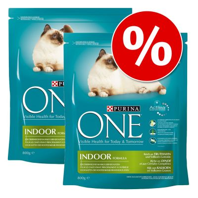 Purina ONE -säästöpakkaus 6 x 1,5 kg/ 3 x 3 kg - Coat & Hairball - Chicken ( 6 x 1,5 kg)