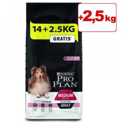 Purina Pro Plan koiranruoka 14 kg + 2,5 kg kaupan päälle! - Adult Large Athletic OptiDigest - Lamb (14 kg + 2,5 kg)
