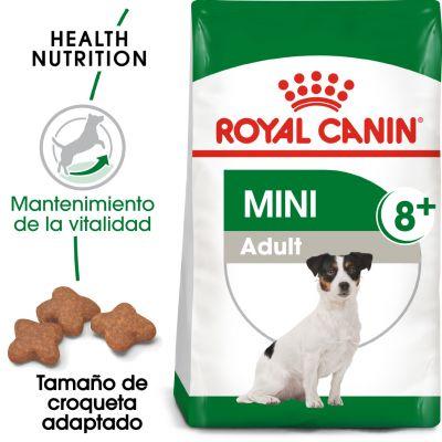 Royal Canin Mini Adult 8+ - 2 x 8 kg - Pack Ahorro
