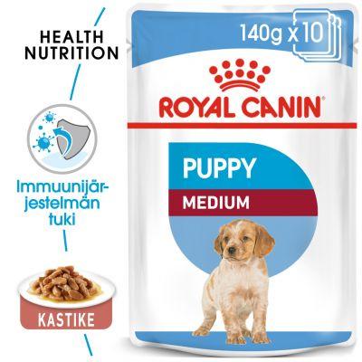 Royal Canin Medium Puppy - 40 x 140 g