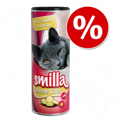 Smilla-kissannapit tutustumishintaan! - Cheese Rolls 400 g
