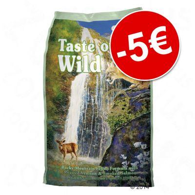 Säästä 5 euroa: 6,6 kg Taste of the Wild -kissanruokaa! - Rocky Mountain Feline (6,6 kg)