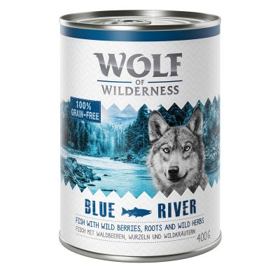 "Wolf of Wilderness Adult ""Blue River"" - Fisch"