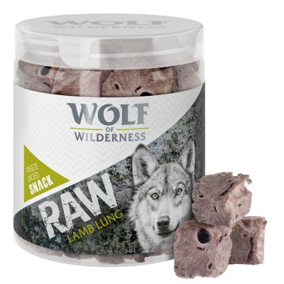 Wolf of Wilderness - gevriesdroogde Premium-Snacks - lamslong