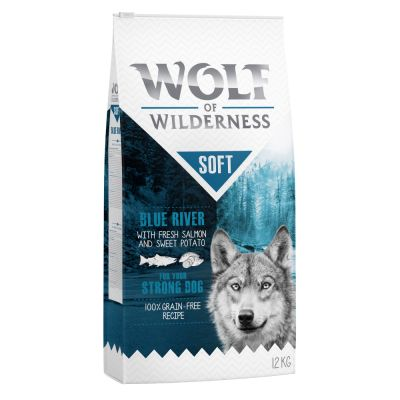 "Wolf of Wilderness ""Soft - Blue River"" - Lachs"